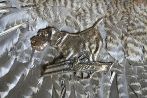 "Bronze Pin ""German Wirehaired Pointer"""