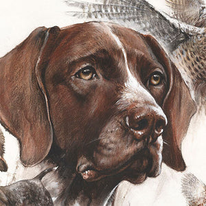 "Author's print ""German Shorthaired Pointer"""