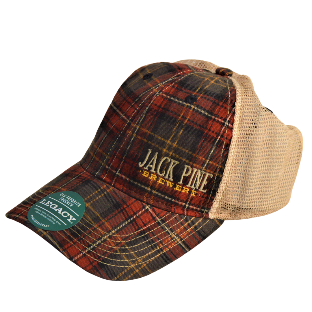 Plaid OFA Trucker Hat