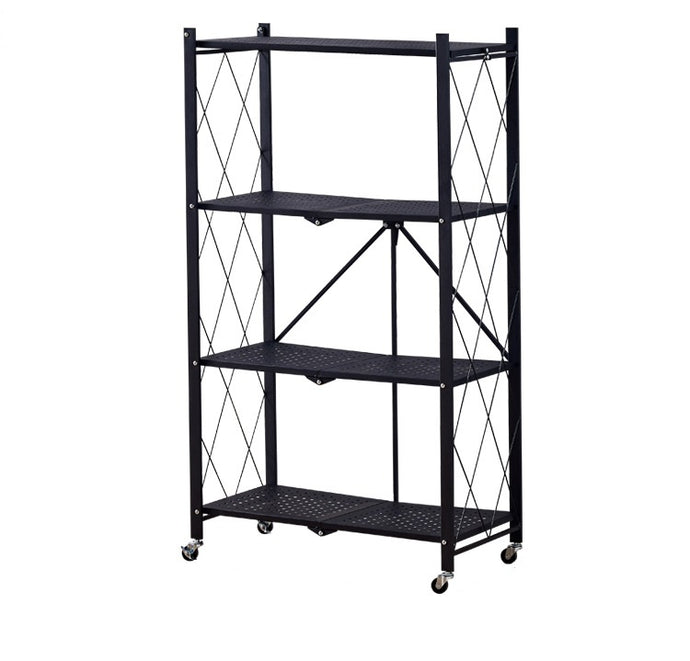Foldable shelving 4 Level Trolley/cart
