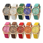 Luxury fashion casual gold women watches bracelet
