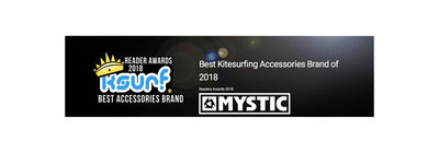 Mystic takes BEST ACCESSORY BRAND AWARD 2018