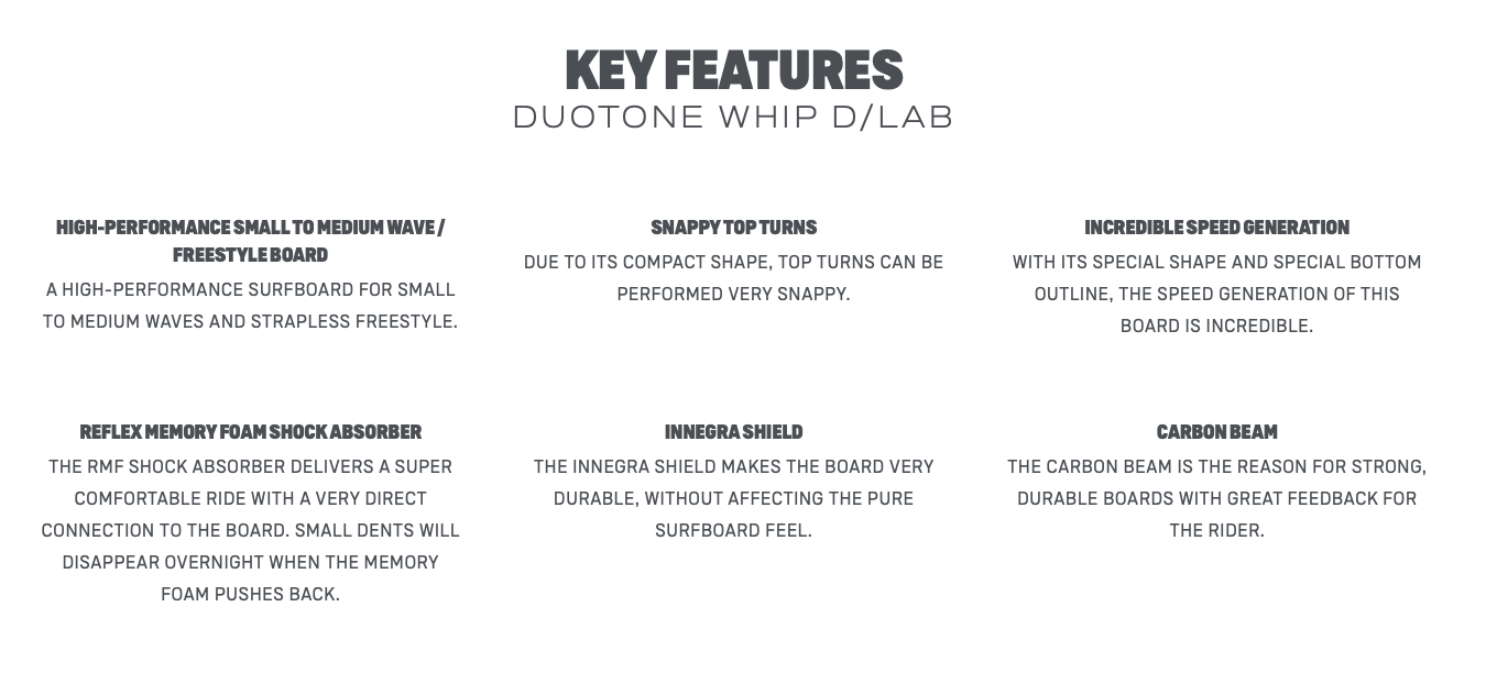 2022 Duotone Whip D/LAB