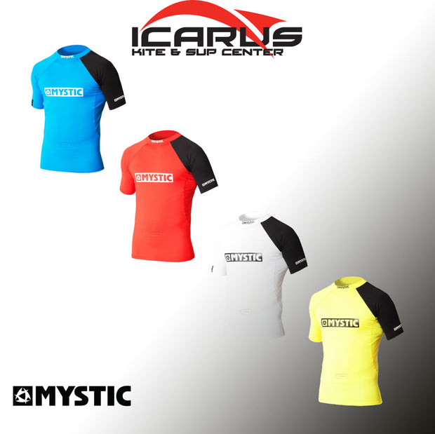 Mystic Event S/S Rashvest Chest Logo