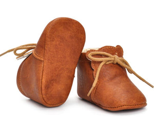 The Ollie Leather Moccasins