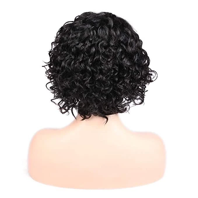 CiCiWig®|  Super Natural Short Wave Bob 360 Lace Wig Human Hair Wig