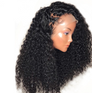 CiCiWig®| Brazilian Glamorous Black Front Short Curly 360 Lace Wig | Human Wig | Black/Brown Wig