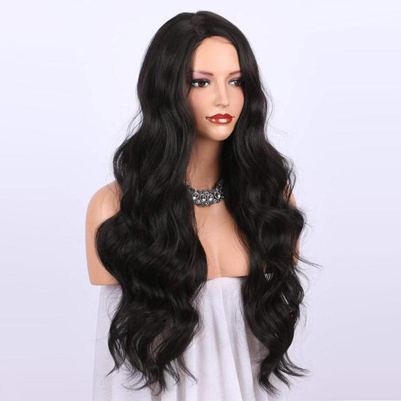 CiCiWig®| Lace Big Wave Black Long Curly | Synthetic Wig