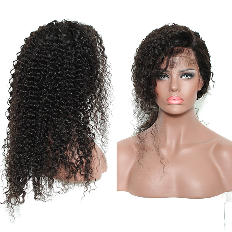 CiCiWig®|  Brazilian 360 Frontal Lace Wig Curly Wig Human Hair Wigs | Black/Brown/Red Wigs