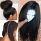 CiCiWig®|  Kinky Straight Glueless Full Lace Wigs Brazilian Pre Plucked Full Lace Human Hair Wigs With Baby Hair Ever Beauty