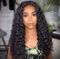 CiCiWig®|  Long curly hair Brazilian hair lace front wig  |  Human Hair