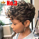 CiCiWig®| Gorgeous Short Curly African American | Synthetic Wig