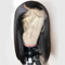CiCiWig®|  360 Lace  Human Hair Lace  Bob Wig (Hand-Tied)Black/Brown  |  Human Hair