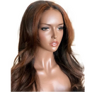 CiCiWig®|  360 Lace Long brown waves Human Wigs  |  Brown Hair