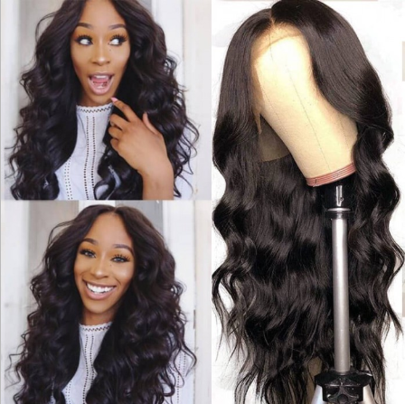 CiCiWig®|  Long Body Wave Human Hair Lace Front Wig For Women  |  Human Hair