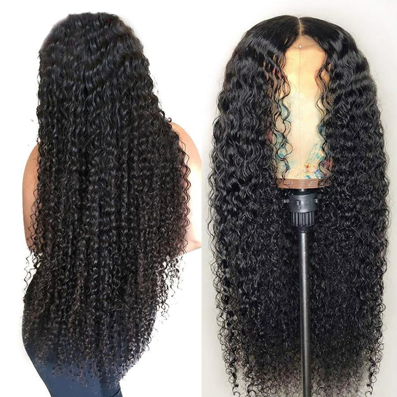 CiCiWig®|   Long curly hair with small lace  |  Human Hair