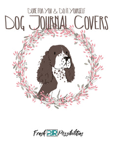 Dog Journal Covers with PLR