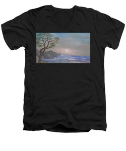 A Collection Of Children's Paintings From Ghettos In The Holocaust - Men's V-Neck T-Shirt