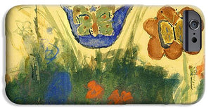 Children Paintings In The Terezin Theresienstadt Ghetto - Phone Case