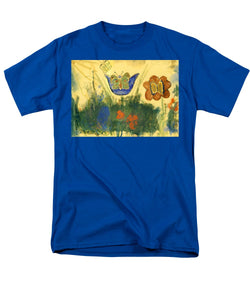 Children Paintings In The Terezin Theresienstadt Ghetto - Men's T-Shirt  (Regular Fit)