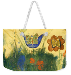 Children Paintings In The Terezin Theresienstadt Ghetto - Weekender Tote Bag