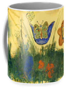 Children Paintings In The Terezin Theresienstadt Ghetto - Mug
