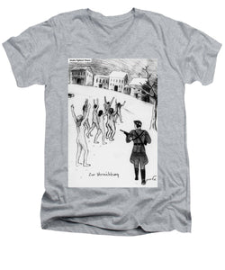 Collection Of Children's Paintings From The Holocaust - Men's V-Neck T-Shirt