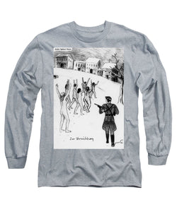 Collection Of Children's Paintings From The Holocaust - Long Sleeve T-Shirt