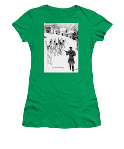 Collection Of Children's Paintings From The Holocaust - Women's T-Shirt
