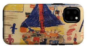 Paintings Of Children From The Holocaust - A New Collection - Phone Case