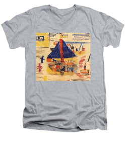 Paintings Of Children From The Holocaust - A New Collection - Men's V-Neck T-Shirt