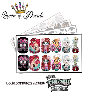 OFFICIAL Miss Cherry Martini collaboration 'Alternative Princesses 2'