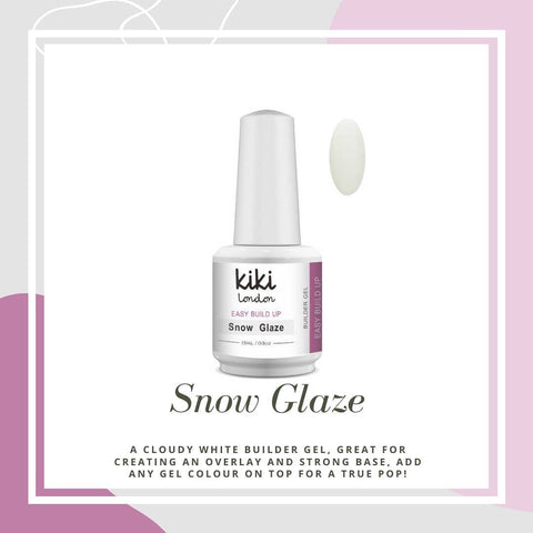 Easy Build Up Snow Glaze 15ml