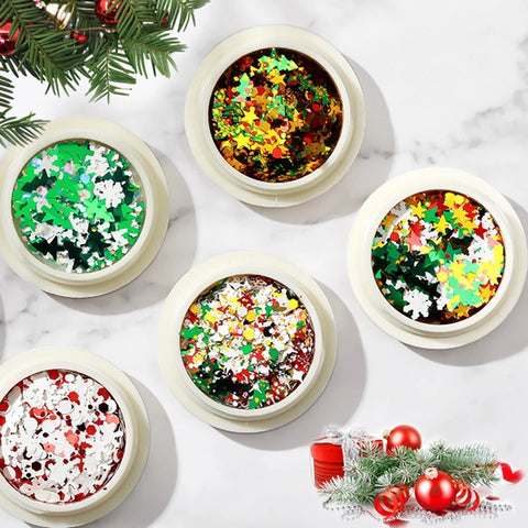 Christmas Glitter Sequin Decoration