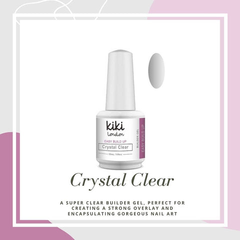 Easy Build Up Crystal Clear 15ml