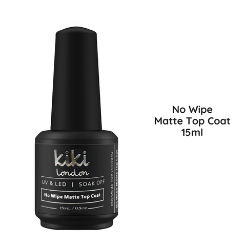 Matte Top Coat 15ml (No Wipe)
