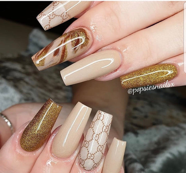 Designer Inspired - Nude and Roses