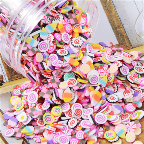 Sweet Treats Fimo Nail Art Slices