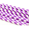 Purple Striped Paper Straws — STRAWTOPIA - STRAWTOPIA