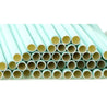Turquoise | White Chevron Paper Straws Biodegradable and Compostable - STRAWTOPIA