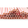 Light Pink with White Dots Paper Straws -  STRAWTOPIA - STRAWTOPIA
