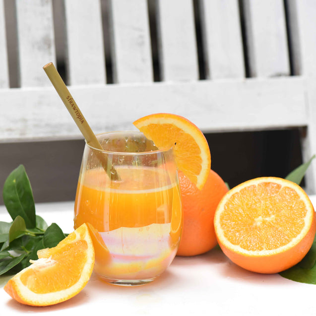 Strawtopia-fresh orange-juice-with-bamboo-straw