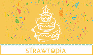 Strawtopia Gift Card Birthday