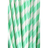 Minty Green Striped Paper Straws — STRAWTOPIA - STRAWTOPIA
