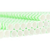 Light Green | White Chevron Pattern Paper Straws — STRAWTOPIA - STRAWTOPIA