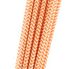 Orange and White Chevron Paper Straws — STRAWTOPIA - STRAWTOPIA