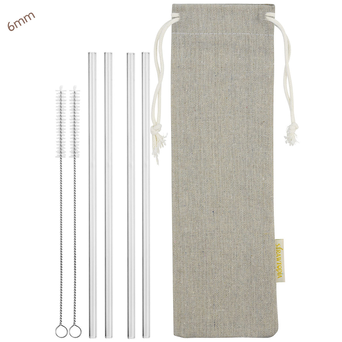 1 Brush Free Shipping Trustful 4 Pcs Straight Stainless Steel Metal Drinking Straw Reusable Washable Sports & Entertainment