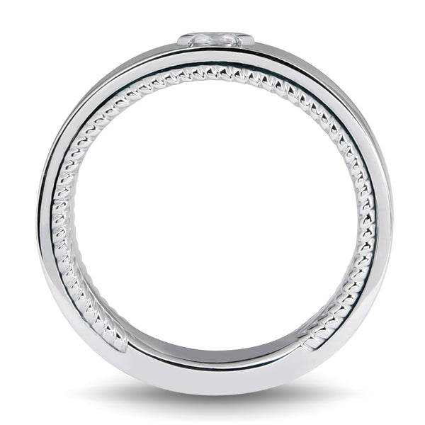 Beloven Marquise Men Wedding Band