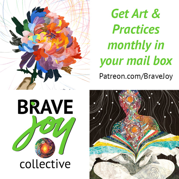 Brave Joy Art & Practice - Wisdom, 3-pack