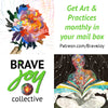 Brave Joy Art & Practice - Generosity, 3-pack